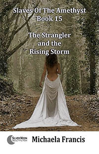 cover design for the book entitled The Strangler And The Rising Storm