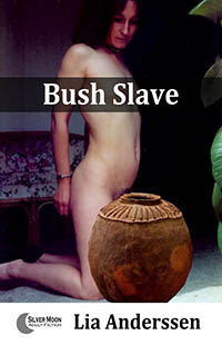 cover design for the book entitled Bush Slave