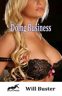 cover design for the book entitled Doing Business