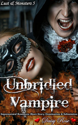 cover design for the book entitled Unbridled Vampire