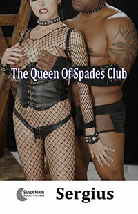 cover design for the book entitled The Queen of Spades Club
