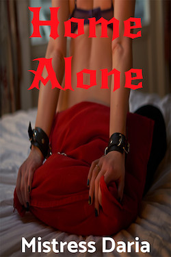 cover design for the book entitled Home Alone