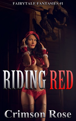 cover design for the book entitled Riding Red