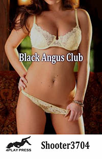 cover design for the book entitled Black Angus Club