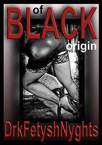 cover design for the book entitled OF BLACK ORIGIN