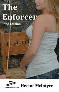 cover design for the book entitled The Enforcer
