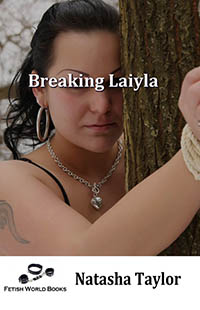 cover design for the book entitled Breaking Laiyla