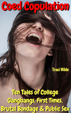 cover design for the book entitled Coed Copulation