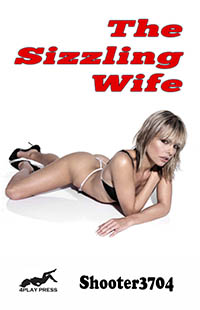 cover design for the book entitled The Sizzling Wife