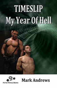 cover design for the book entitled Timeslip - My Year of Hell