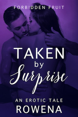 cover design for the book entitled Taken by Surprise