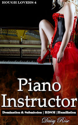 cover design for the book entitled Piano Instructor