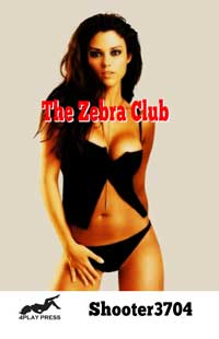 cover design for the book entitled The Zebra Club