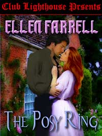 cover design for the book entitled The Posy Ring