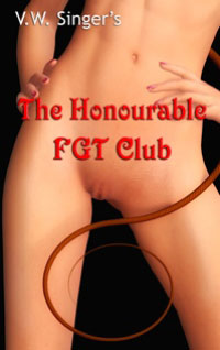 cover design for the book entitled The Honourable Fgt Club