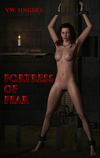 cover design for the book entitled Fortress Of Fear