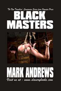 cover design for the book entitled Black Masters