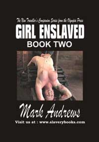 cover design for the book entitled Girl Enslaved (book Two)