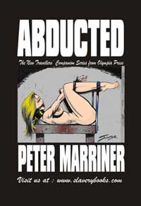 cover design for the book entitled Abducted