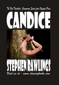 cover design for the book entitled Candice