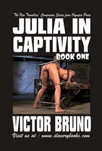 cover design for the book entitled Julia In Captivity Book One