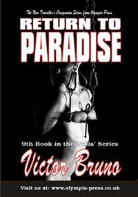 cover design for the book entitled Return To Paradise