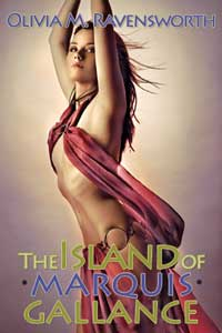 cover design for the book entitled The Island Of Marquis Gallance