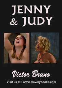 cover design for the book entitled Jenny And Judy