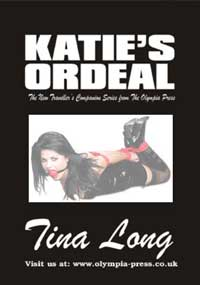 cover design for the book entitled Katie