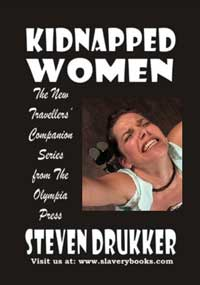 cover design for the book entitled Kidnapped Women
