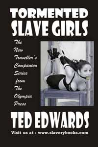 cover design for the book entitled Tormented Slavegirls