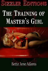 cover design for the book entitled The Training Of Master