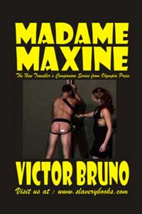 cover design for the book entitled Madame Maxine