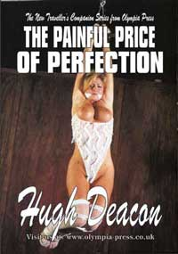 cover design for the book entitled Painful Price Of Perfection