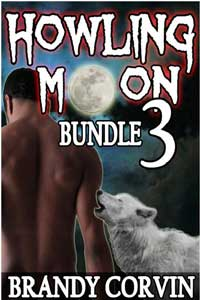 cover design for the book entitled Howling Moon Bundle 3
