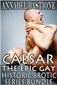 cover design for the book entitled Caesar: The Epic Gay Erotic Historic Series Bundle