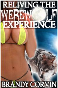 cover design for the book entitled Reliving The Werewolf Experience
