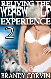 cover design for the book entitled Reliving The Werewolf Experience 2