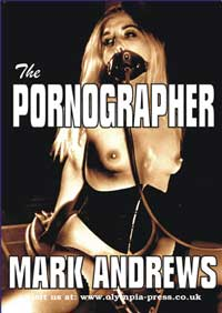 cover design for the book entitled The Pornographer