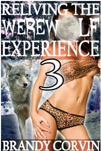 cover design for the book entitled Reliving The Werewolf Experience 3
