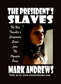 cover design for the book entitled The President