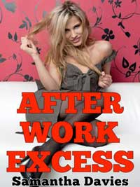 cover design for the book entitled After Work Excess