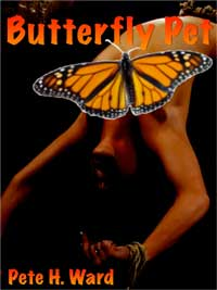 cover design for the book entitled Butterfly Pet
