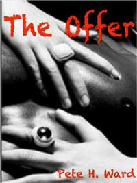 cover design for the book entitled The Offer