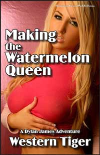 cover design for the book entitled Making The Watermelon Queen