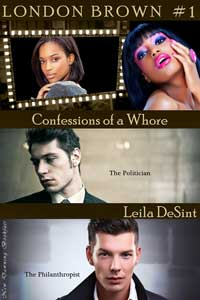 cover design for the book entitled Confessions Of A Whore 1