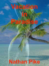 cover design for the book entitled Vacation In Paradise