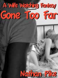 cover design for the book entitled A Wife Watching Fantasy Gone Too Far
