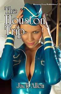 cover design for the book entitled The Houston Trip