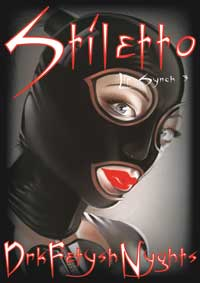 cover design for the book entitled STILETTO - Lip Synch 3